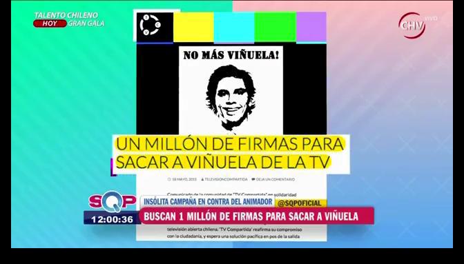 Resolución adoptada tras el revuelo de la campaña que busca remover de la TV a Viñuela
