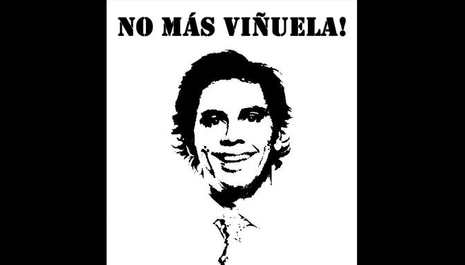 Un millón de firmas para sacar a Viñuela de la TV