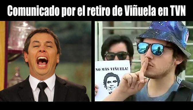 ¡Victoria! Comunicado sobre el retiro adelantado de Viñuela en TVN