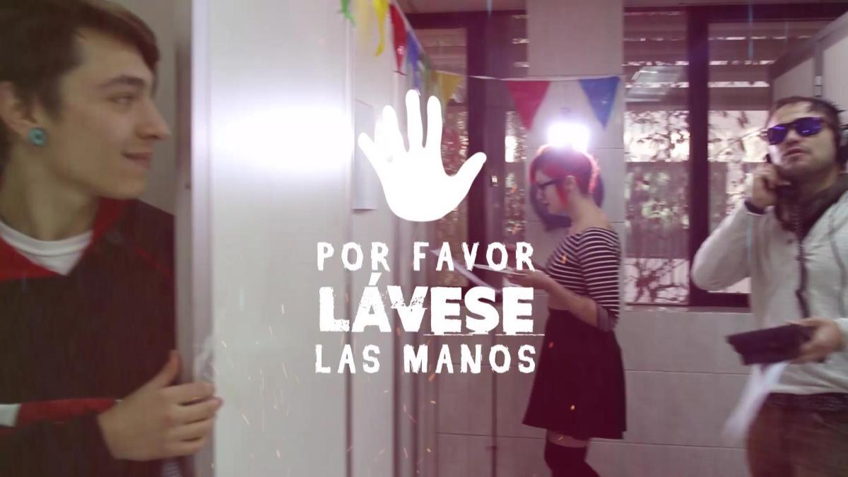 Algo nuevo: 'Por Favor Lávese las Manos' ¯\(ツ)/¯